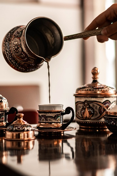 pistazien kaffee